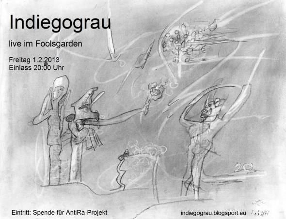 Flyer 20130201  Indiegograu im Foolsgarden